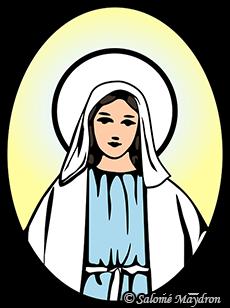Chants à Marie - Visuel