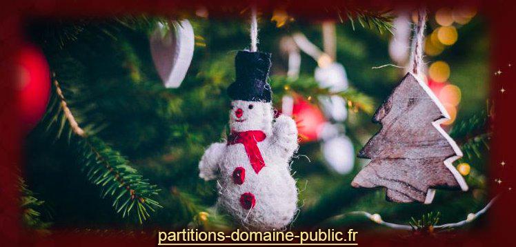 Vignette lien vers partitions-domaine-public fond rouge