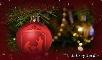 Chants de Noël profanes - Visuel