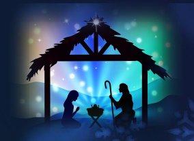 Noël Nuit Nativité Visuel